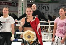 Irem Akin wins Girl Power Kickboxing 5