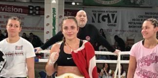 Irem Akin wins Girl Power Kickboxing 5